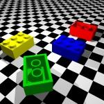 POV-Ray Lego Brick
