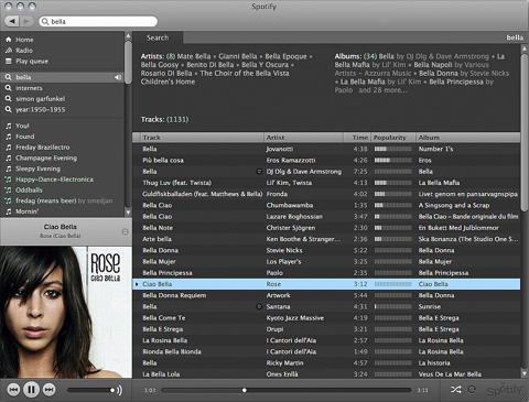Spotify ps3 vista